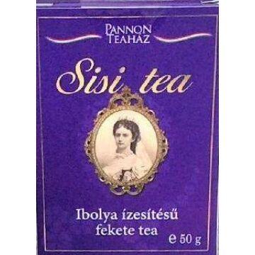 Sisi Ibolya ízesítésű fekete tea