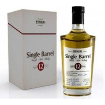 Békési Pálinka Manufaktúra Single Barrel 12 éves Whisky 0,7L DÍSZDOBOZBAN