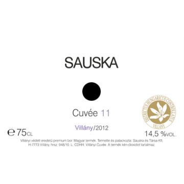 Sauska Cuvée 11 2012/2013