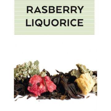 JOHAN & NYSTRÖM RASBERRY LIQUORICE, Ízesített fekete tea 100 gr