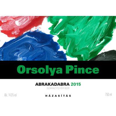 Orsolya Pince Abrakadabra 2015/2016