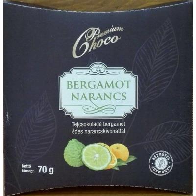 Bergamot narancs tejcsokoládé 70gr