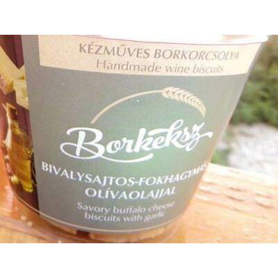 Borkeksz bivalysajtos-fokhagymás olivaolajjal 120 gr
