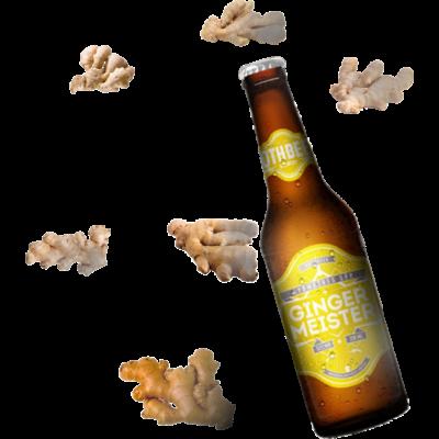 Rothbeer Gingermeister ale sör 0,33L