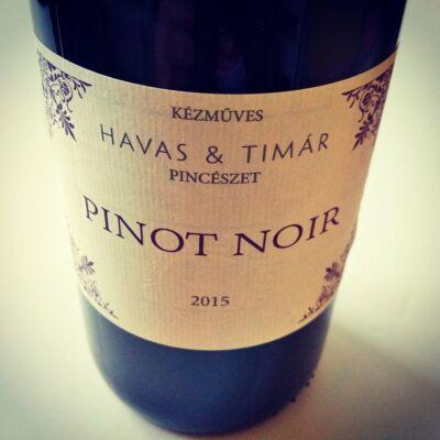 Havas Tímár Pinot Noir 2015