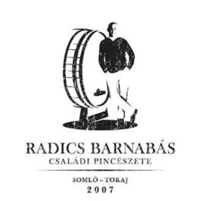 Radics Barnabás zempléni Fűszeres Tramini 2015