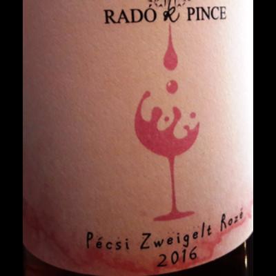 Radó Pince Zweigelt Rozé 2017