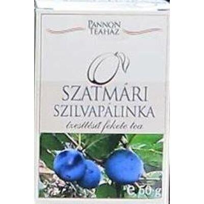 Szatmári szilva pálinka ízesítésű fekete tea 50 gr
