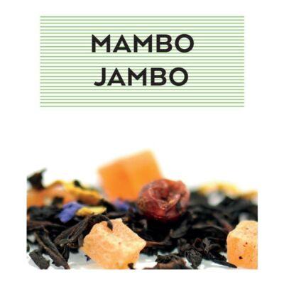JOHAN & NYSTRÖM MAMBO JAMBO, FEKETE TEA 100gr