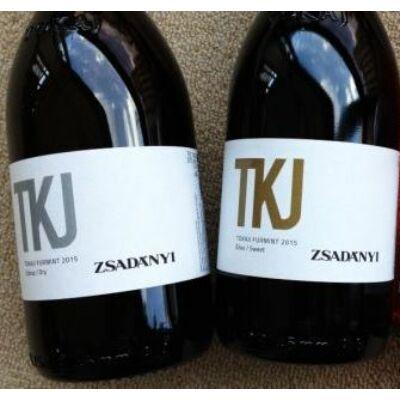 Zsadányi TKJ tokaji furmint 2015 édes