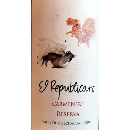 El Republicano Carmenere Reserva 2017