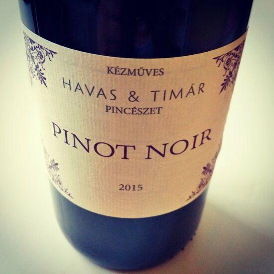 Havas Tímár Pinot Noir 2017