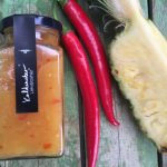 Kaldeneker Chilis ananászlekvár 312 ml